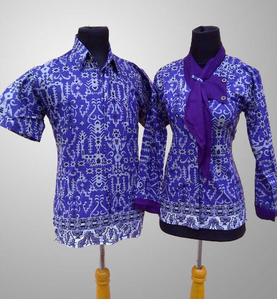 20 Model Baju Batik Kerja Terkini Ragam Fashion