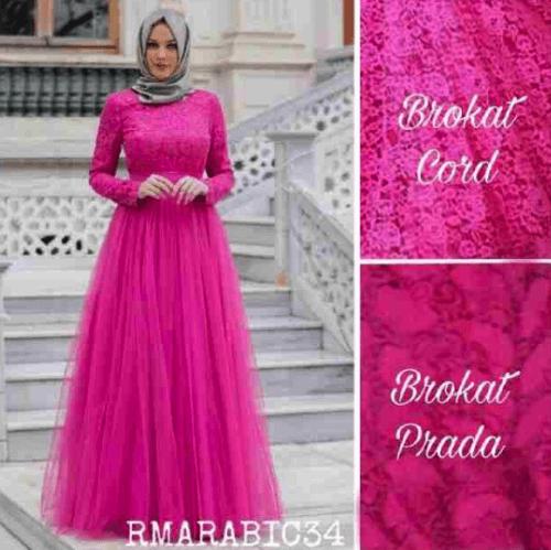 Model Baju Gamis Modern Terbaru 2017 Ragam Fashion