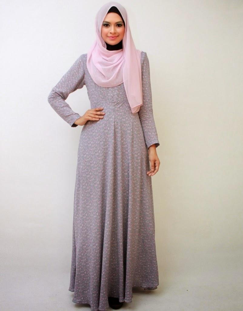 Model Baju Gamis Modern Terbaru 10 - Ragam Fashion