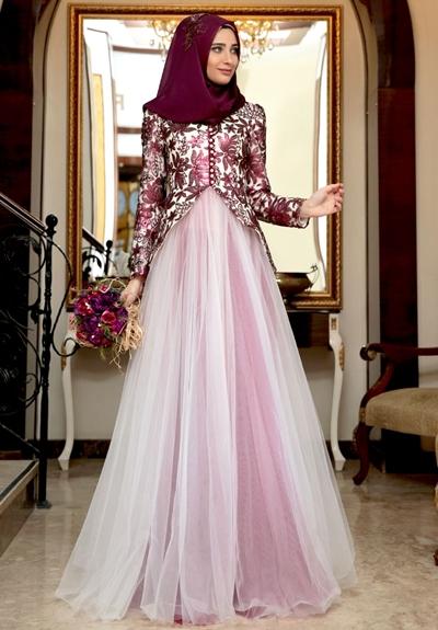 Baju Pesta Muslim Sederhana - Baju Mewah