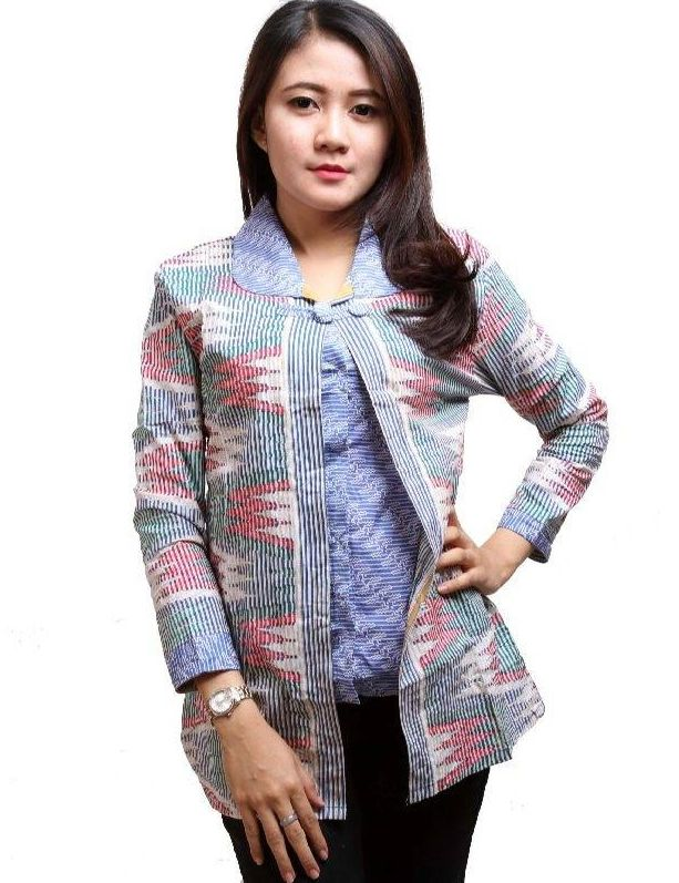 20 Model Baju Batik Kerja Terkini - Ragam Fashion 6205434c19