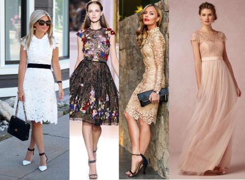 40 Model Dress Brokat Modern dan Elegan