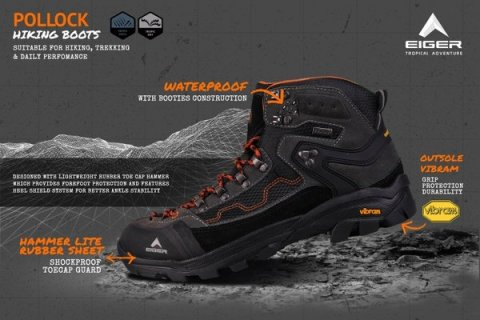 Sepatu Eiger Terbaru be Sporty and Stylish