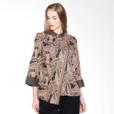 bergaya modern dengan atasan batik super trendy   ragam
