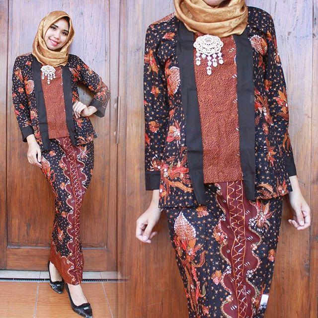 Ootd Hijab Baju Batik - Galeri Mukena Terbaru